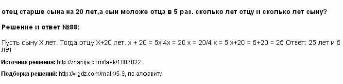 Решение 88