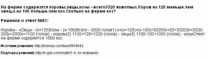 Решение 81